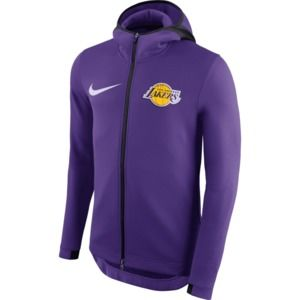 Nike Mens Therma Flex La Lakers Showtime Purple